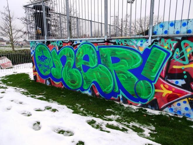 Oner, Horfield skate park, Bristol, March 2018