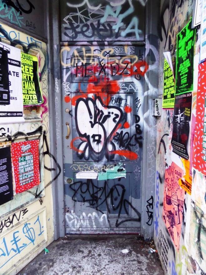 Door, Stokes Croft, Bristol