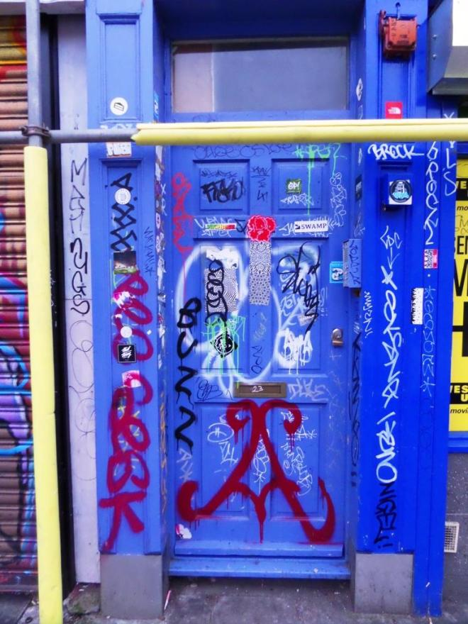 Door, Stokes Croft, Bristol