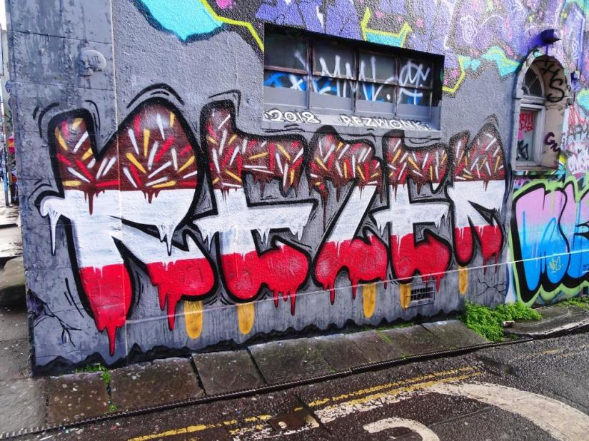 Rezwonk, Hepburn Road, Bristol, April 2018