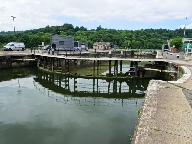 Cumberland Basin upper lock gate, Bristol