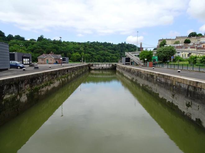 Cumberland Basin lower lock gate, Bristol