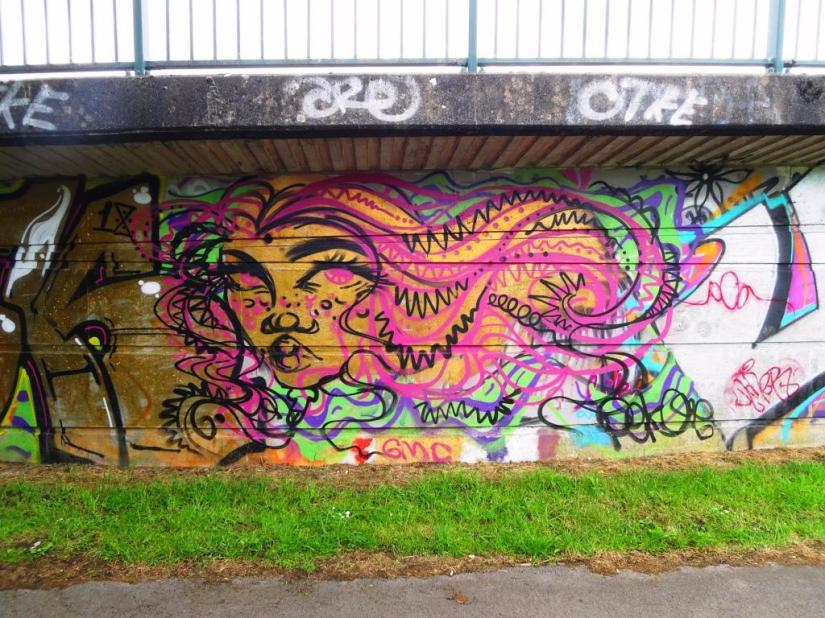 Pekoe, Brunel Way bridge, Bristol, June 2018