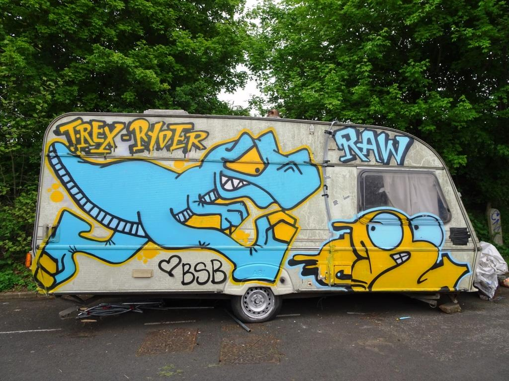 Ryder and T-Rex, M32, Bristol, May 2018