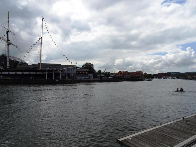 Bristol's floating harbour and SS Great Britain