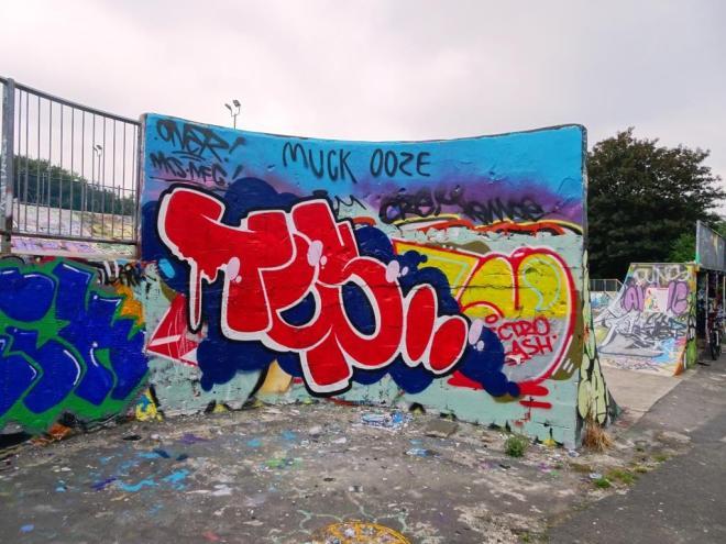 Slim Pickings, Dean Lane, Bristol, June 2018