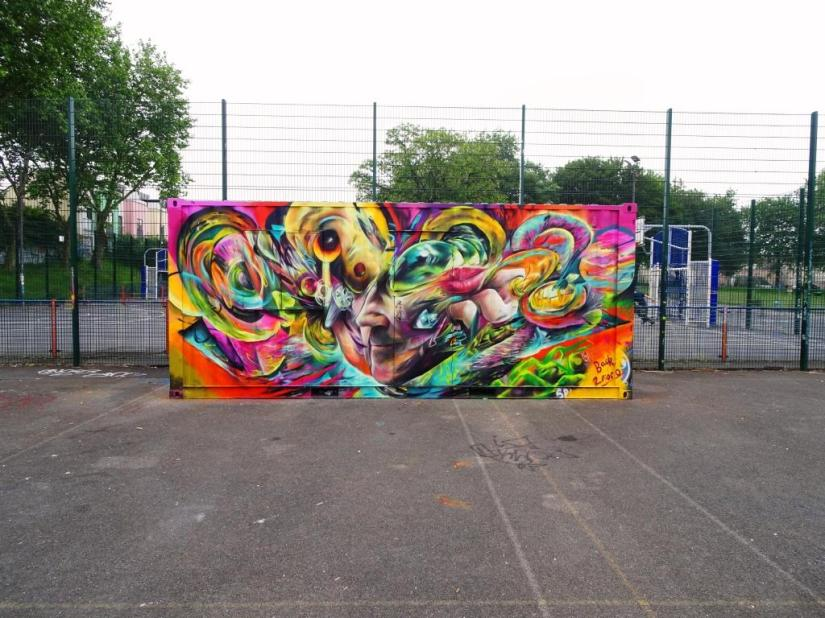 Tom Miller, Dean Lane, Bristol, June 2018