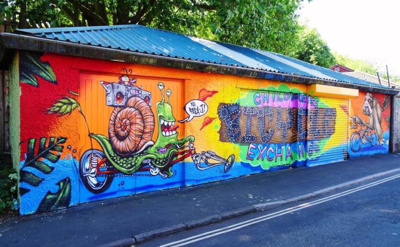 3Dom, Feek and Sepr, Fern Street, Bristol, June 2018