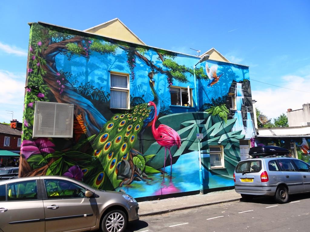 Zase and Dekor, Mina Road, Bristol, June 2018