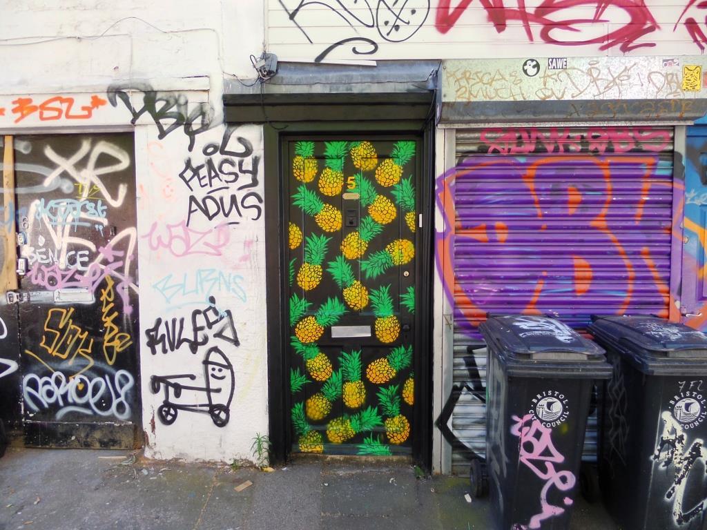 Door, Armada Place, Bristol, July 2016