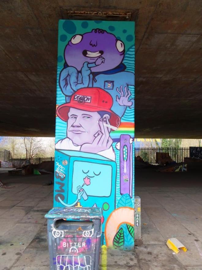 Kid Crayon, M32 Spot, Bristol, February 2018