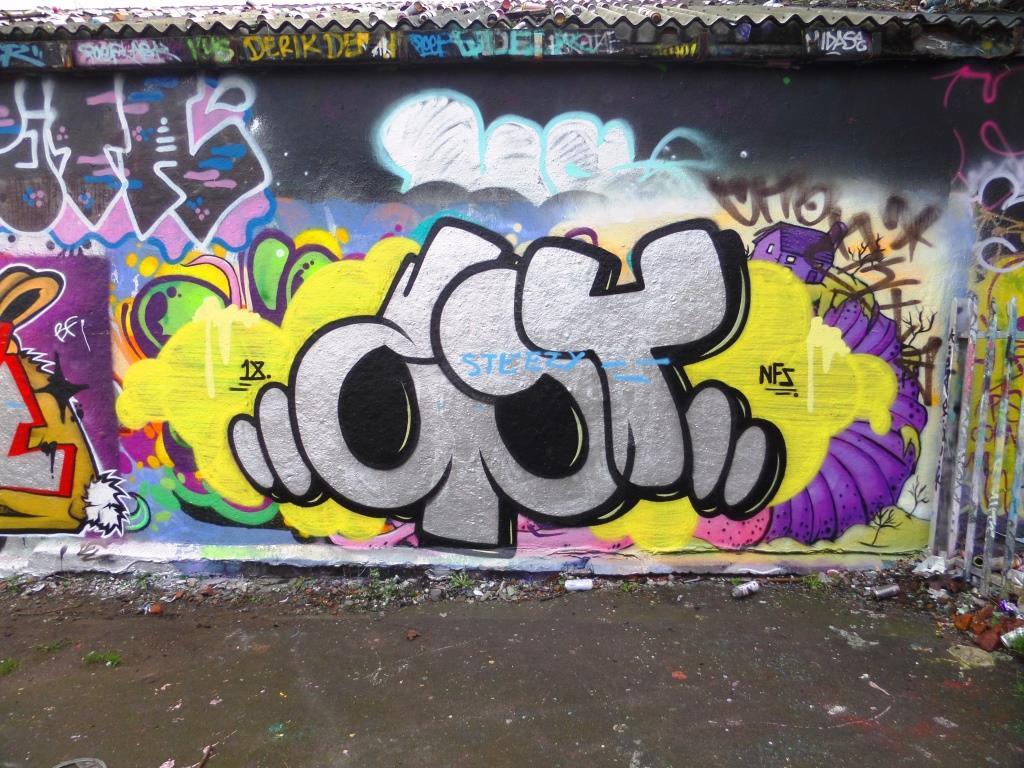 Slim Pickings, Dean Lane, Bristol, January 2018