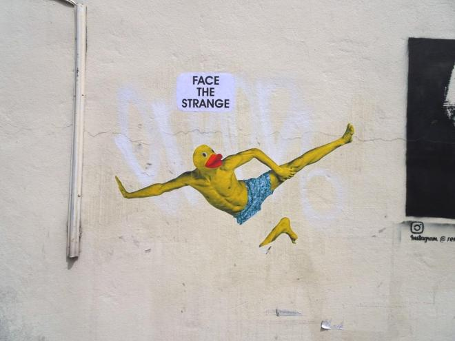 Face the Strange, Melville Terrace, Bristol, June 2018