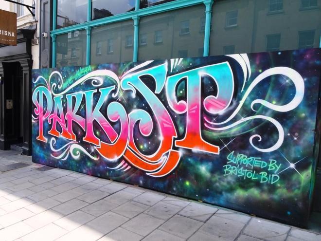 Inkie and Cheba, Park Street, Bristol, July 2018