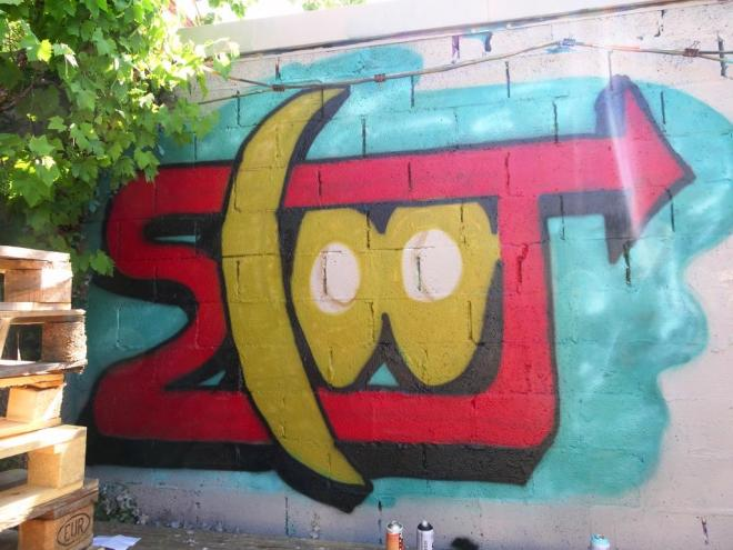 Scooj, Upfest shop, 8 July 2018