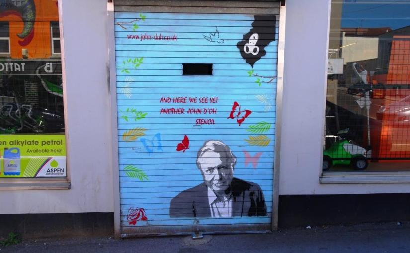 John D'oh, North Street, Bristol, July 2018