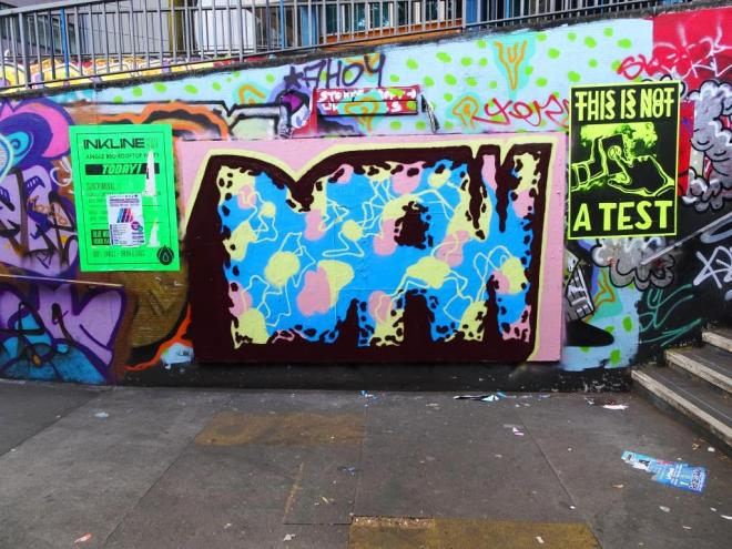 Mr Draws, The Bearpit, July 2018