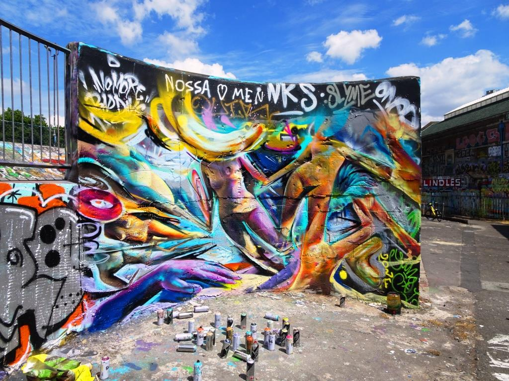 Tom Miller, Upfest, Bristol, July 2018