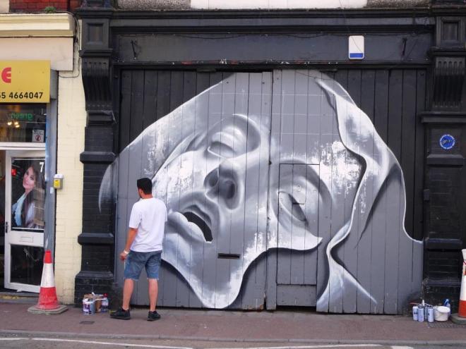 Piet Rodriguez, Upfest, Bristol, July 2018