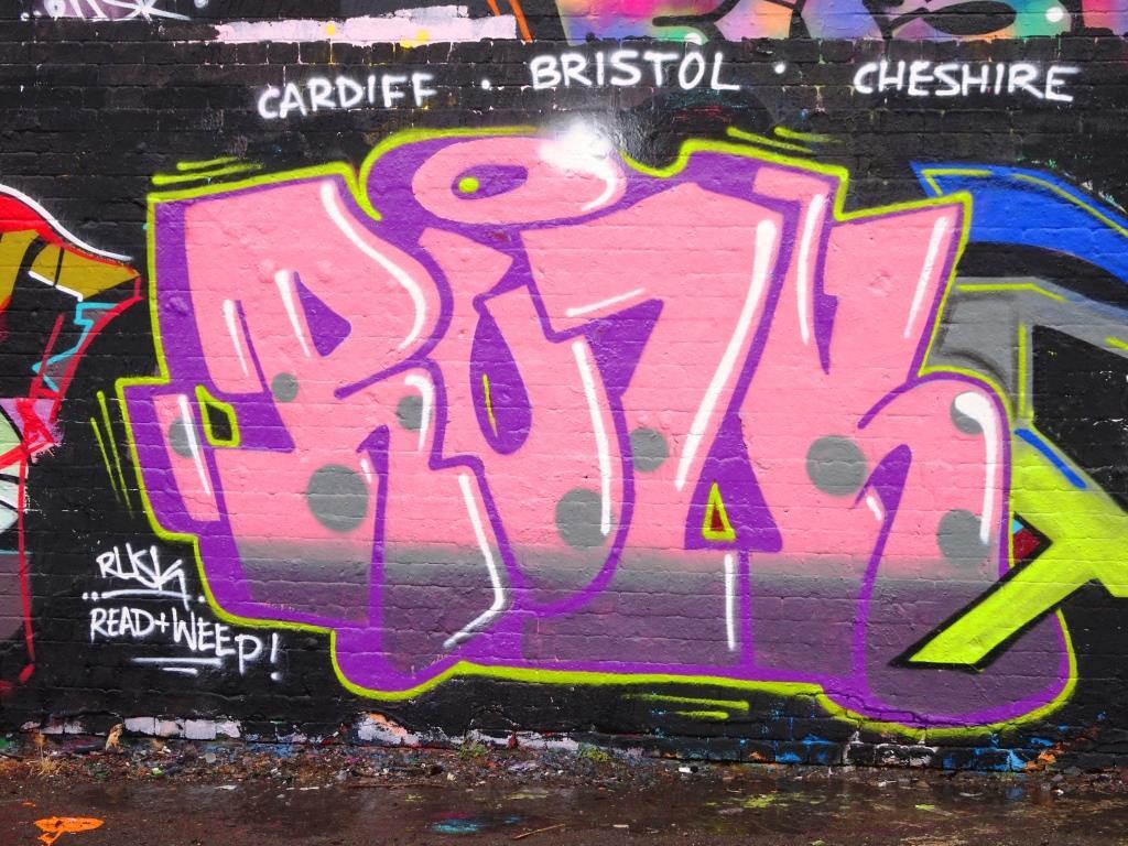 Rusk, Dean Lane, Bristol, July 2018