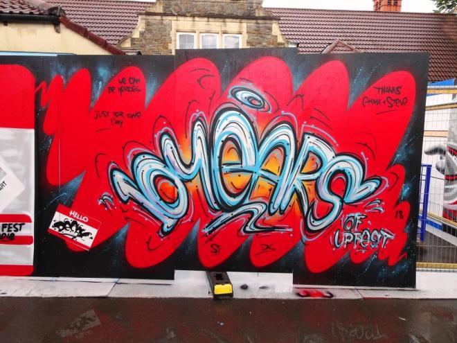Decay, Upfest, Bristol, July 2018