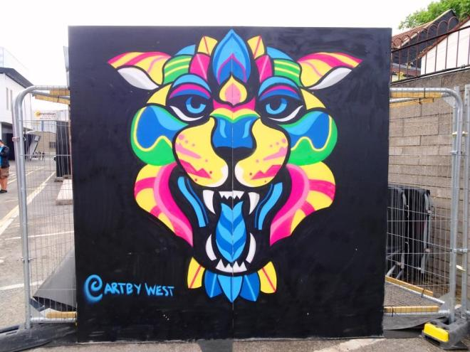 J. West, Upfest, Bristol, July 2018
