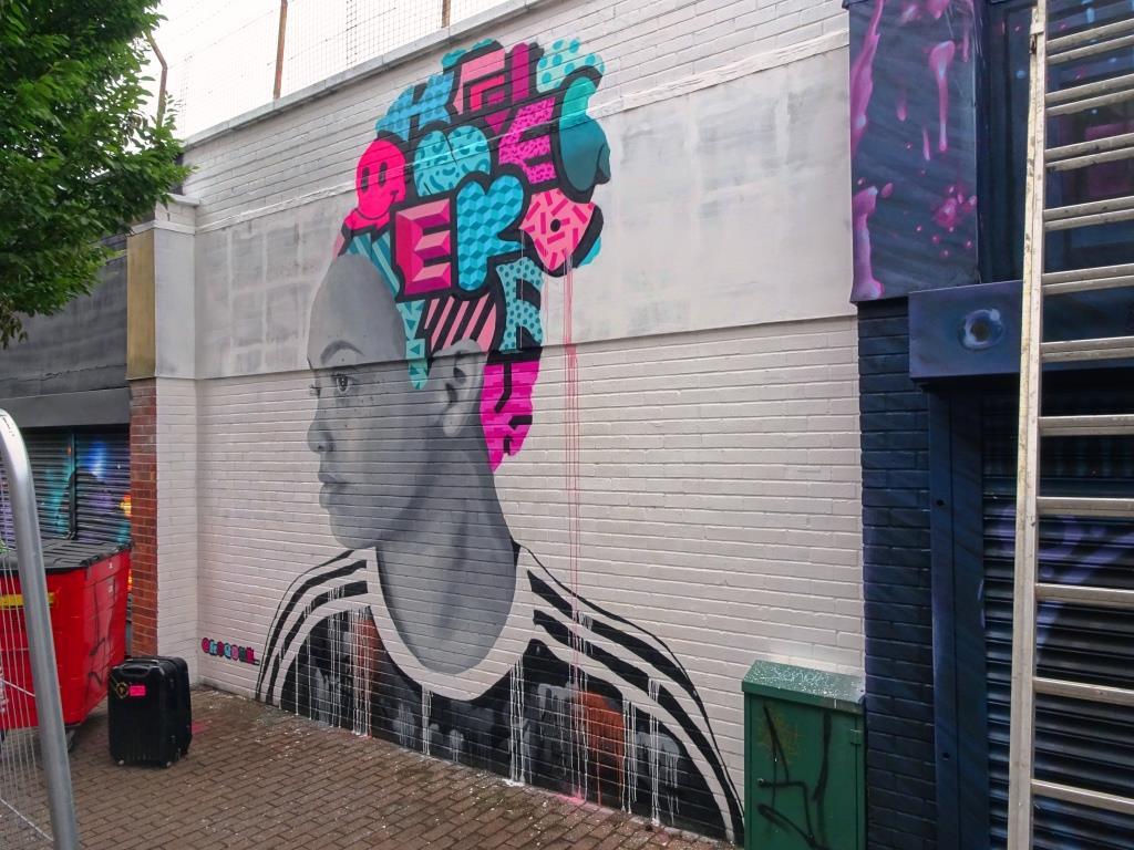 Koeone, Upfest, Bristol, July 2018
