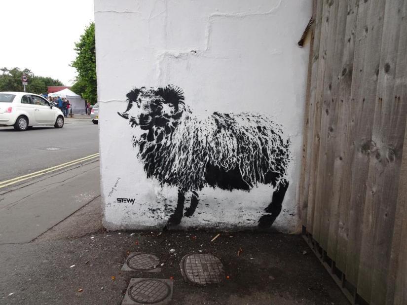 Stewy, Upfest, Bristol, July 2018