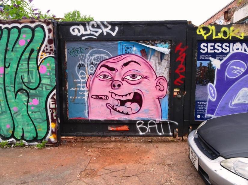 Kid Crayon, Moon Street, Bristol, August 2018