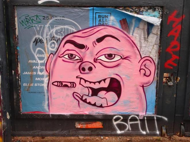 Kid Crayon, Moon Street, Bristol, August 2018