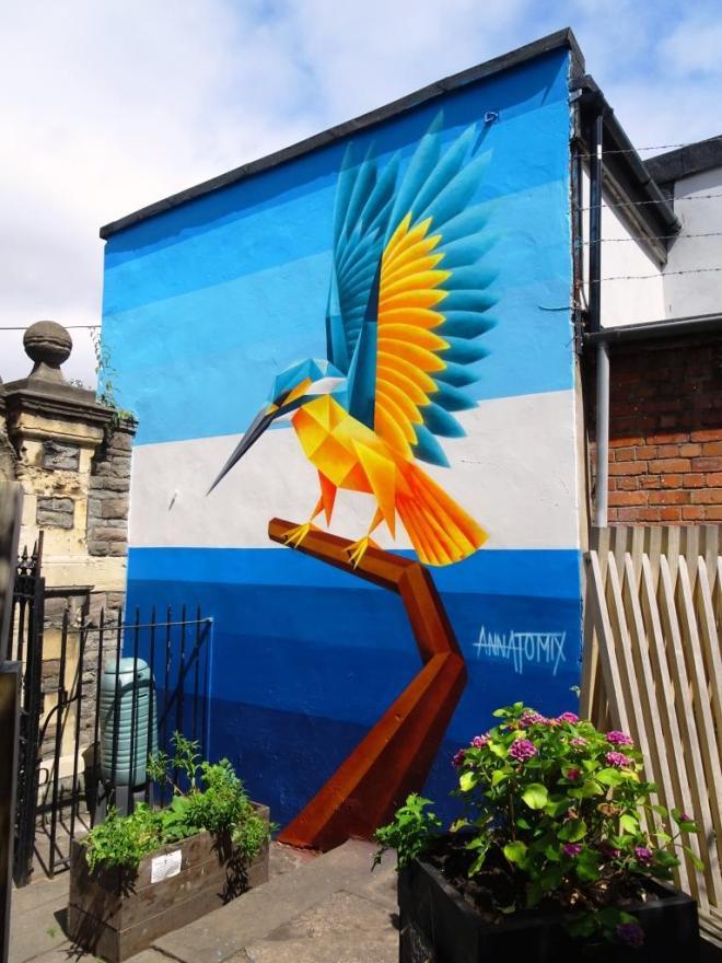 Annatomix, Upfest, Bristol, July 2018
