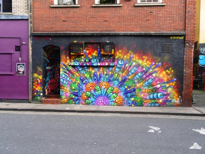 3Dom, Frogmore Street, Bristol, August 2018