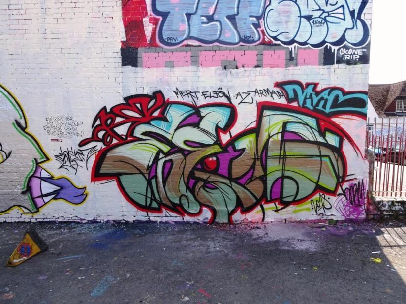 Unknown artist, Dean Lane, Bristol, August 2018