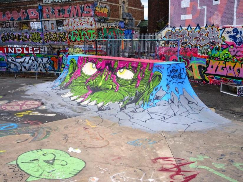 Feek, Dean Lane, Bristol, August 2018