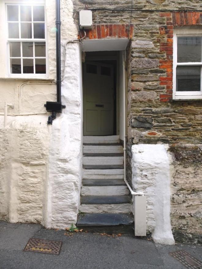 Fowey door, August 2018