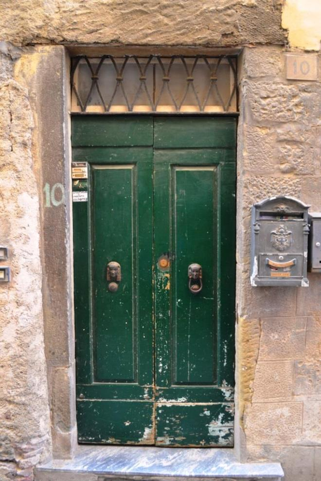 Door in Cortona, Umbria, Italy