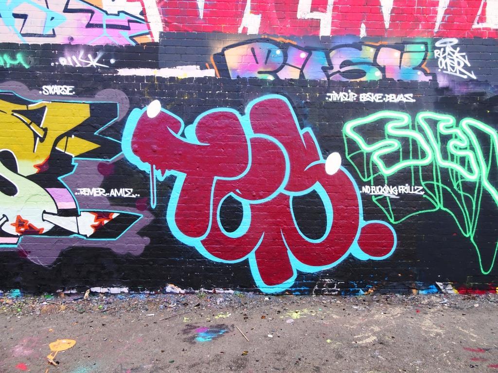 Slim Pickings, Dean Lane, Bristol, July 2018