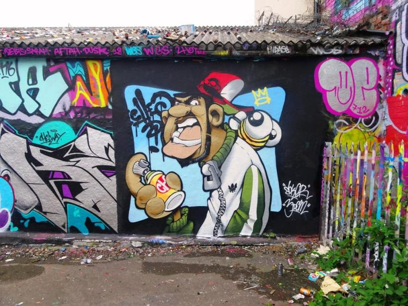 Cheo, Dean Lane, Bristol, August 2018