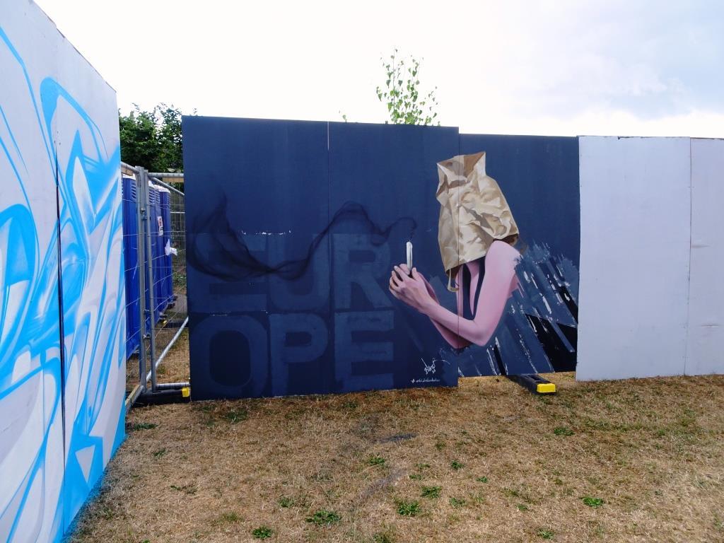 Christian Boehmer, Upfest, Bristol, July 2018