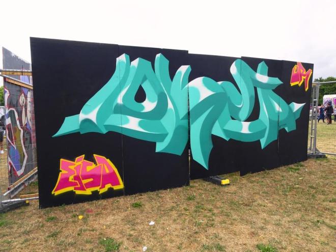Lokey, Upfest, Bristol, July 2018