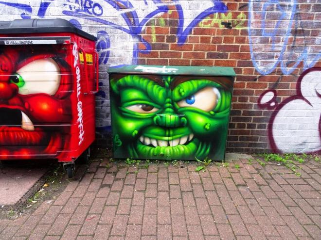 Hull Graffiti, Upfest, Bristol, July 2018