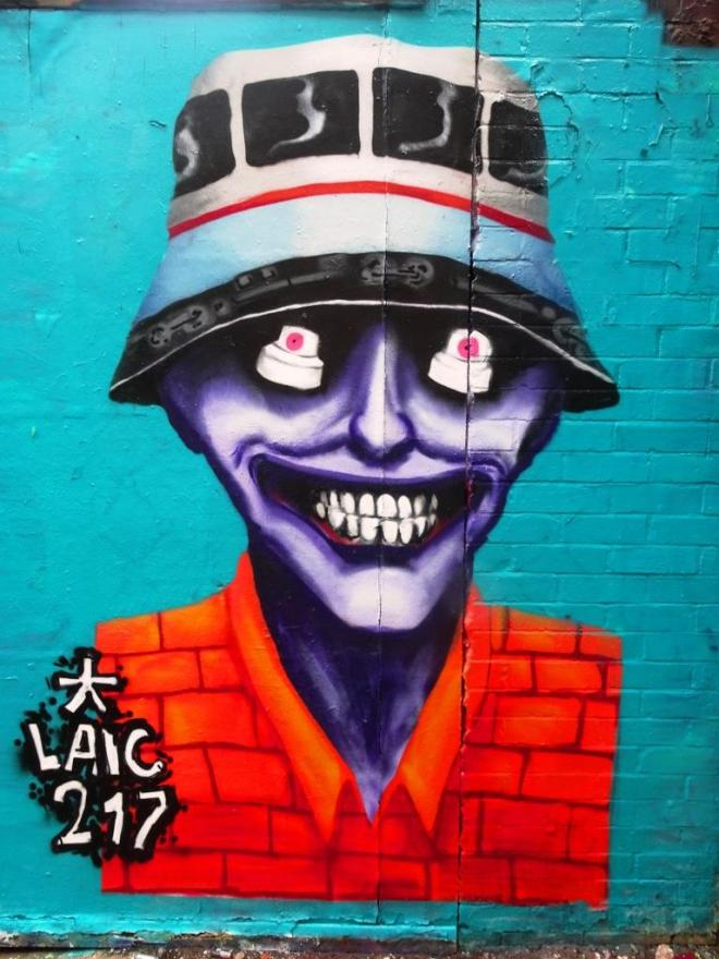 Laic217, Moon Street, Bristol, September 2018
