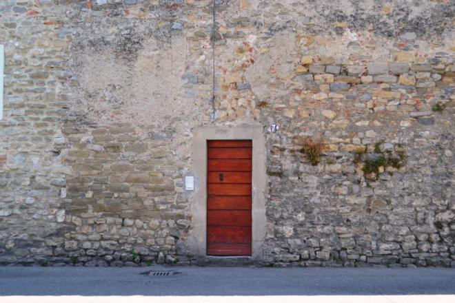 Wall, Door. That's about it. Citta di Castello, Umbria, Italy.