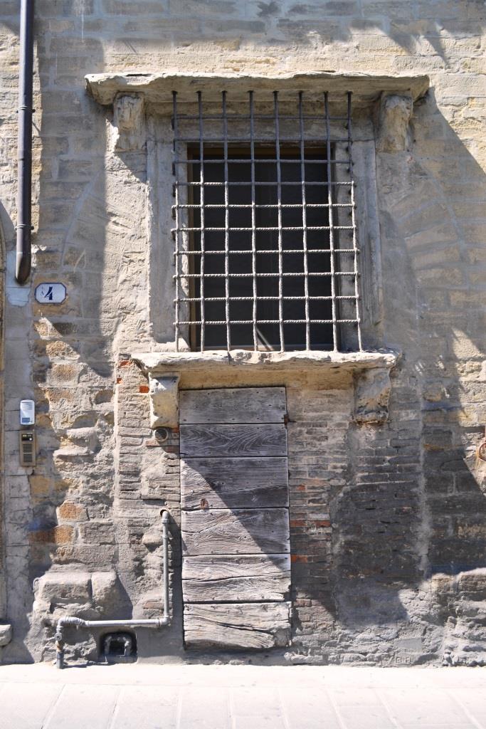 Door with plenty of character, Citta di Castello, Umbria, Italy