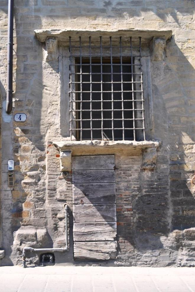 Door with plenty of character, Citta di Castello, Umbria, Italy