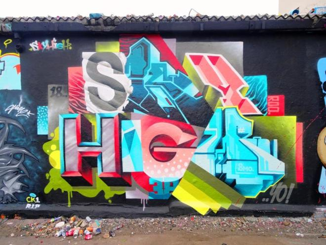 SkyHigh, Dean Lane, Bristol, September 2018