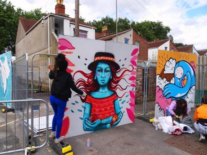 Bronik, Upfest, Bristol, July 2018