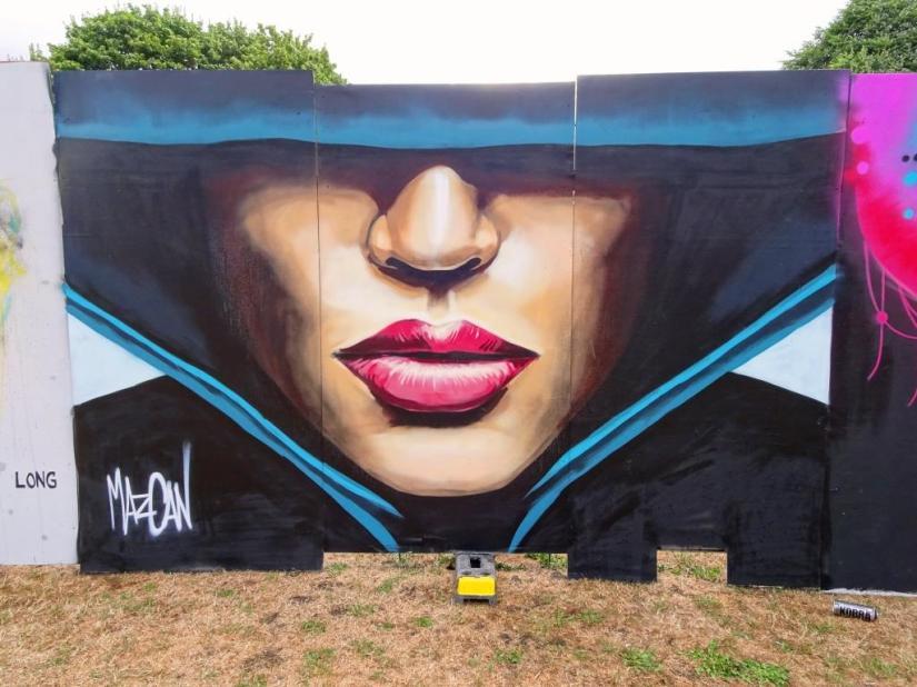 Mazcan, Upfest, Bristol, July 2018