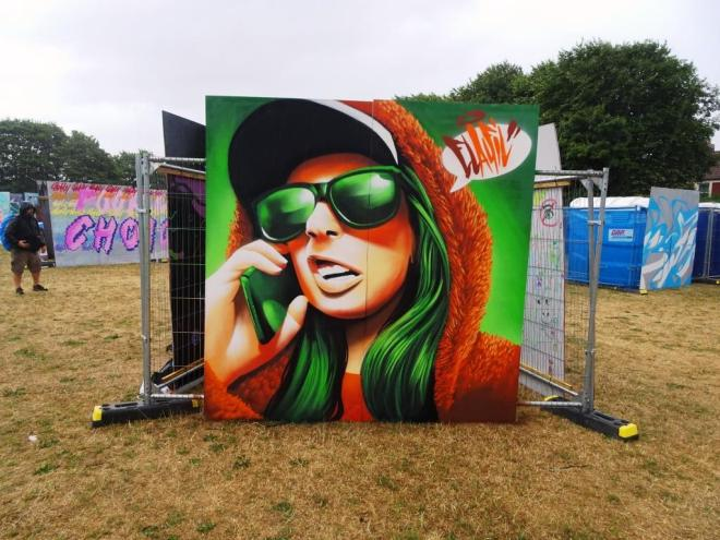 Elafil, Upfest, Bristol, July 2018
