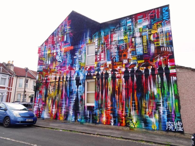 Dan Kitchener, Upfest, Bristol, July 2018